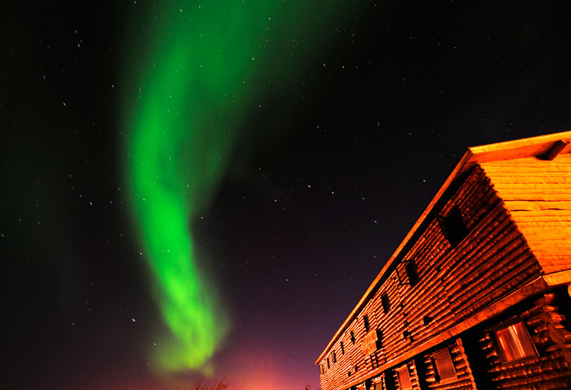 Canadian Northern Lights in Churchill Manitoba