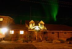 Northern Lights Over Lazy Bear Lodge