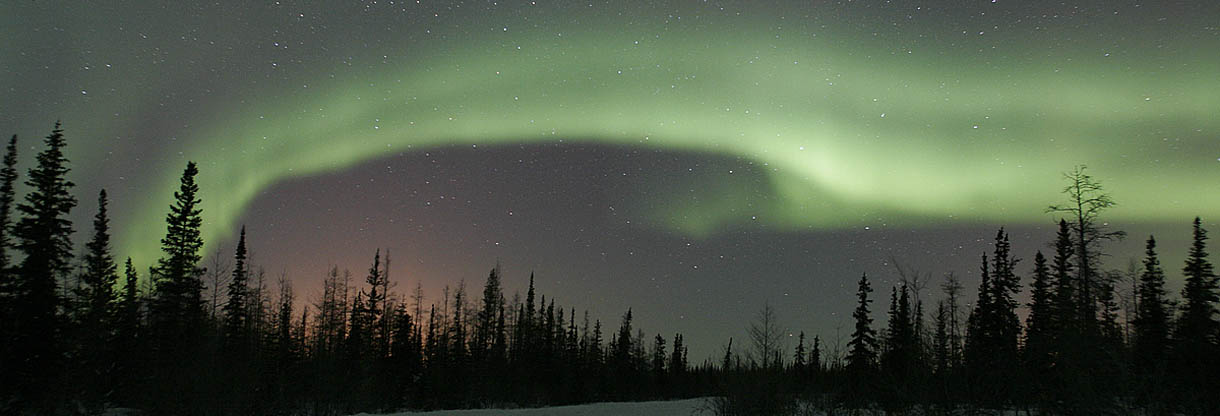 Canadian Northern Lights 1220x416