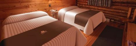 Lazy Bear Lodge Beds In Churchill Manitoba
