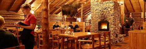 Lazy Bear Lodge Cafe In Churchill Manitoba