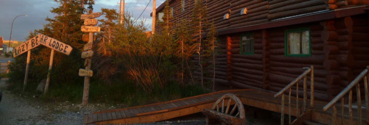 Lazy Bear Lodge Outside